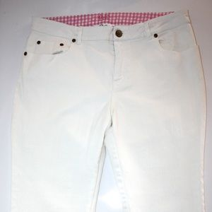 LILLY PULITZER COTTON CROP PANTS SIZE 10
